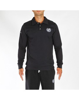 POLO BLACK EDITION M/L LOGO CELESTE