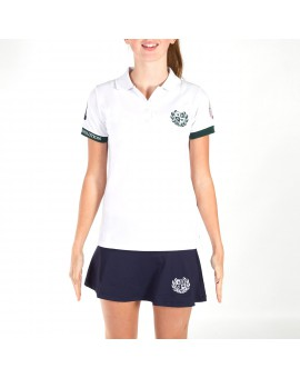 POLO OFICIAL FIP 1&2 WOMAN BLANCO