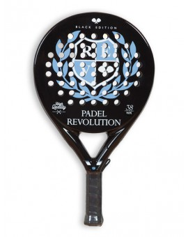 PALA PADEL BLACK EDITION BRILLANTE 100% CARBONO